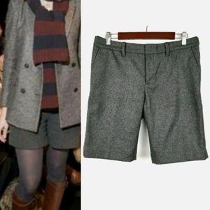 2006 GAP Wool Schoolboy Shorts Size 8 Gray